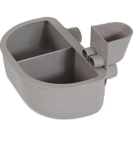 Petmate Petmate Kennel Bowl Double Diner 13oz
