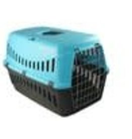 Bergamo Gipsy Small Metal Door Pet Carrier Blue