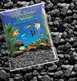 Nature's Ocean Nature's Ocean Jet Black Pebbles 25lb