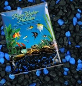 Pure ocean Pure Water Pebbles Midnight GLO Blue/Black 5LB