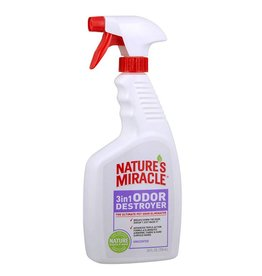 Nature's Miracle Nature's Miracle 3in1 Odor Destroyer Unscented Spray 24oz