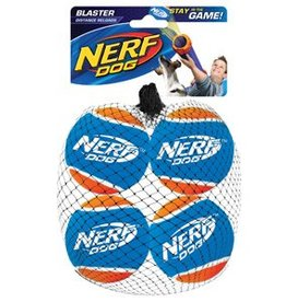 NERF Nerf Dog Blaster Tennis Balls, 4 pack