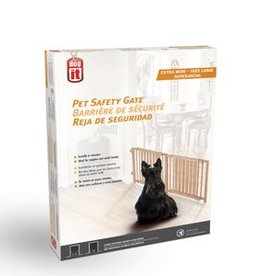 "Dogit Dogit Pet Safety Gate - Extra Wide - 122 cm - 203 cm W x 45.5 cm H (48"" - 80"" W x 18"" H)"