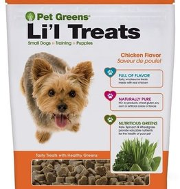 Bellrock Bellrock Pet Greens Dog Treats Lil Roasted Chicken 6oz