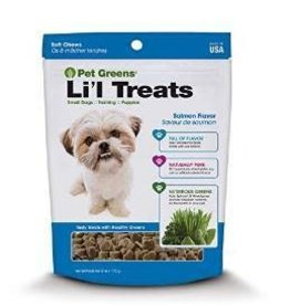 Bellrock Bellrock Pet Greens Dog Treats Lil Healthy Salmon 6oz