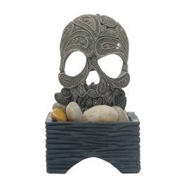 Marina Marina Betta Skull Ornament