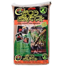 Zoo Med Zoo Med Eco Earth Loose Coconut Fiber Substrate 8qt