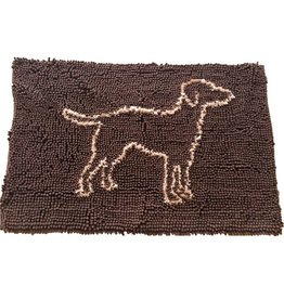 Cozy Spot Cozy Spot Clean Paws Mat Brown 35x24