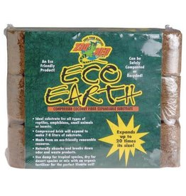 Zoo Med Zoo Med Eco Earth Coconut Fiber Substrate - 3 Bricks