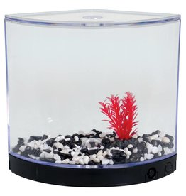 BettaArc BettaArc LED Betta Kit - Black - 1.2 L