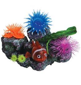 Underwater Treasures Underwater Treasures Clownfish Reef Scene