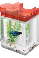 Aqueon Aqueon Betta Puzzle Aquarium Kit - Red