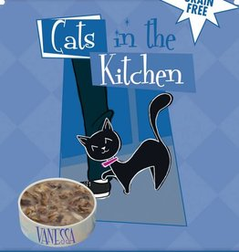 Cats in the Kitchen 1 By Land, 2 By Sea Tuna, Beef & Salmon 3oz