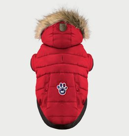 Canada Pooch Canada Pooch North Pole Parka Red 18