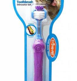 EzyDog Triple-Pet Ez Dog Toothbrush for Large Breeds
