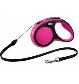 flexi Flexi Comfort Small 8m Cord-Pink