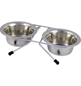 Arjan Arjan Stainless Steel Double Diner 0.5 Pint