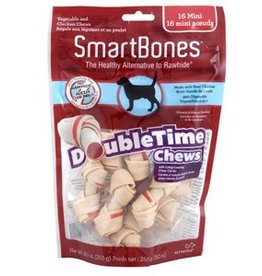 Smart Bones SmartBones DoubleTime Bones, Chicken, Mini, 16 pack