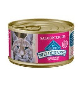 Blue Buffalo Blue Buffalo Wilderness Adult Cat Canned Salmon Recipe 5oz (156g)