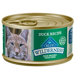 Blue Buffalo Blue Buffalo Wilderness Adult Cat Canned Duck Recipe 3oz (85g)