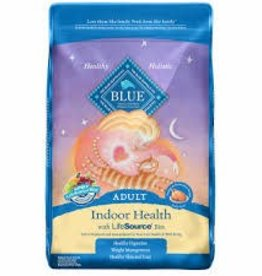 Blue Buffalo Blue Buffalo Life Protection Indoor Cat Health Chicken & Brown Rice Recipe 3lb (1.4kg)