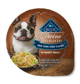 Blue Buffalo Blue Buffalo Divine Delights Cuts in Gravy New York Strip Recipe 3.5oz