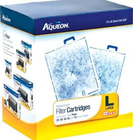 Aqueon AQUEON Replacement Filter Cartridges Large 12pk