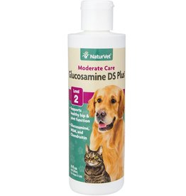 NaturVet Naturvet Glucosamine with MSM Liquid 8oz
