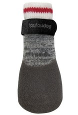 Foufou Fou Fou Dog Heritage Rubber Dipped Socks Charcoal 2XL
