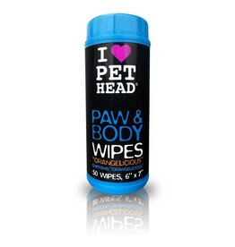 Pet Head Pet Head Paw & Body Wipes 50pk