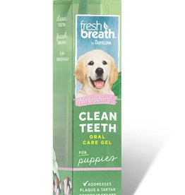 Tropiclean TropiClean Fresh Breath Clean Teeth Oral Care Gel For Puppies 2oz
