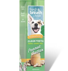 Tropiclean TropiClean Fresh Breath Clean Teeth Peanut Butter Oral Care Gel 2oz