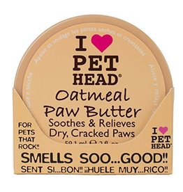 Pet Head Pet Head Oatmeal Natural Dog Paw Butter 2 oz