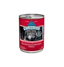 Blue Buffalo Blue Buffalo Wilderness Dog Salmon & Chicken Grill 12.5 oz