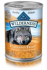 Blue Buffalo Blue Buffalo Wilderness Adult Flatland Feast Turkey, Quail & Duck 12.5 oz