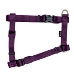 "Zeus Nylon Dog Harness - Royal Purple - Large - 2 cm x 45-70 cm (3/4"" x 18""-27"")"