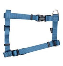 "Zeus Nylon Dog Harness - Denim Blue - XLarge - 2.5 cm x 61-100 cm (1"" x 24""-39"")"