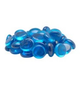 Marina Marina Cool Blue Decorative Marbles - 50 pieces