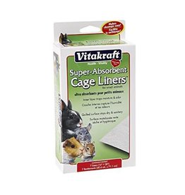 VitaKraft Vitakraft Small Animal Absorbent Cage Liner 16x28
