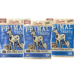 Primal Primal Freeze Dried Treat Beef Liver Munchies 2oz