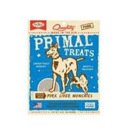Primal Primal Freeze Dried Treat Pork Liver Munchies 2oz