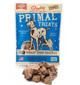 Primal Primal Freeze Dried Treat Turkey Liver Munchies 2oz