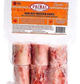 Primal Primal Frozen Beef Marrow Bone 6pk - 2in
