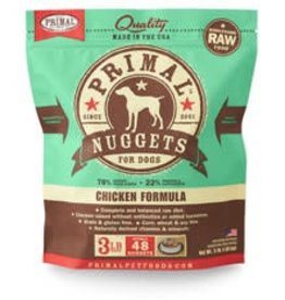 Primal Primal Frozen Canine Chicken Nuggets 3lb