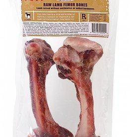 Primal Primal Frozen Lamb Femur Bone 2pk