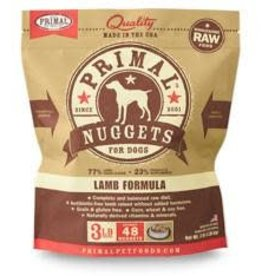 Primal Primal Frozen Canine Lamb Nuggets 3lb
