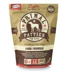 Primal Primal Frozen Canine Lamb Patties 6lb