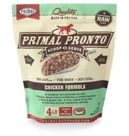 Primal Primal Frozen Canine Pronto Chicken 4lb