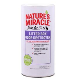 Nature's Miracle Natures Miracle Just For Cats Litter Box Odor Destroy Powder 20oz
