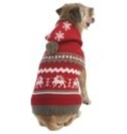 Spot Spot Christmas Sweater Red Small